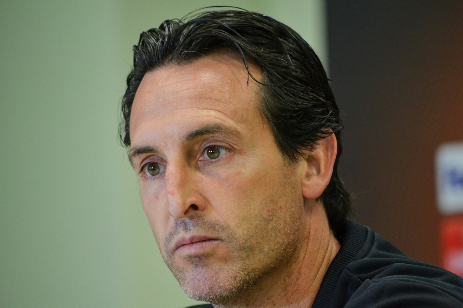 Unai EMery, l'entraineur du Paris Saint Germain