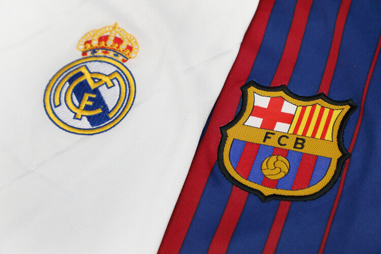 barcelone real madrid prono
